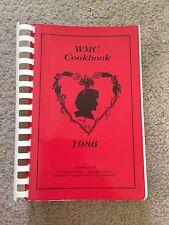 1986 WMC Spiral Bound Cookbook Recipes 561 Pages Paperback
