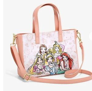 Loungefly Disney Princess Sketch Satchel Bag