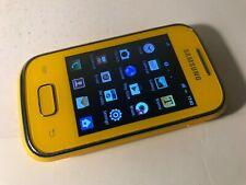 Samsung Galaxy Pocket GT-S5300 - Yellow (Unlocked) Smartphone Mobile