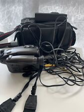 Panasonic PV-19D-K VHS-C PalmCorder Camcorder + Charger + Bag used tape AS IS