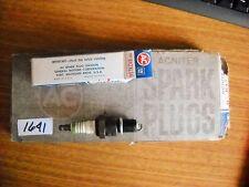 AC Acniter R42XLS6  spark plug 5613790 GM box of 8 green ring vintage NOS