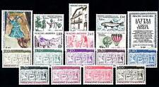 French Andorra #YT310-YT326 MNH CV€18.30 1983 Year Set