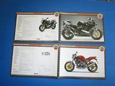N°11384 / 2 dépliants LAVERDA 650 formula ,ghost  italiano testo,english,france
