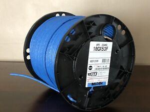 Belden 10GX53F (23/4P) 625MHz, Shielded, Plenum-CMP, F/UTP, CAT6A Cable, 664 ft