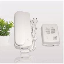 220V Wired Audio Doorbell Door Phone Audio Intercom System with Unlock Function