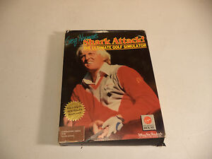 Commodore Amiga GREG NORMAN'S SHARK ATTACK Computer Game by Melbourne House!!