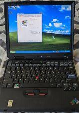IBM Thinkpad X30 Laptop with Intel Pentium III CPU 512MB RAM 40GB HDD Wifi