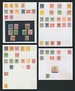SAMOA STAMPS 1877-1955 GOOD ACCUMULATION TO £1, FROM USED EXPRESS (5/- FAULTS)