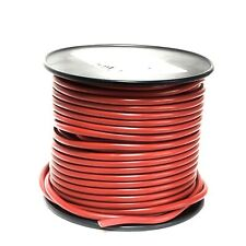 Primary Wire, Red PVC, 10-Ga. Stranded Copper, 100'