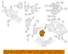 AUDI OEM 13-16 S6-Engine Motor Mount Torque Strut 4H0199255T