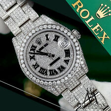 Rolex Datejust 31mm Diamond Roman Dial Oyster Bracelet Ladies Diamond Dail Watch