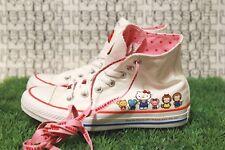 RARE CUTE Converse High Kids 162944C HELLO KITTY Chuck Taylor KIDS 4/WOMEN 6