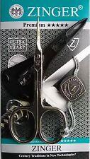 Zinger Premium nail, manicure,pedicure, cuticle scissors, plastic case