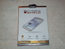 ZAGG INVISIBLE SHIELD DESIGNED FOR SAMSUNG SIII