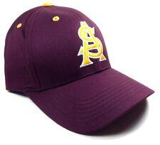 NCAA ARIZONA STATE UNIVERSITY SUN DEVILS LOGO ADJUSTABLE HAT CAP MASCOT RETRO