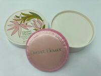 Vintage USA Shulton Desert Flower Dusting Powder Pink Puff ~ Full Unused 3 Oz