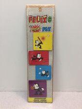 Felix the Cat Pop Fly Baseball Fridge Magnet Set of 4 New MIP Sealed