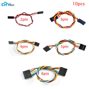 10pcs 2p 3p 4p 5p 6p F/F Jumper Wire 200mm Female to Female Dupont Cable