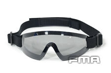FMA Gray Len Low Profile Eyswear Blue Google For Airsoft