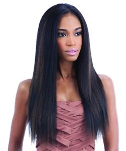 QUE MALAYSIAN IRONED TEXTURE 7PCS (14/16/18) BUNDLE STRAIGHT HUMAN BLEND WEAVE