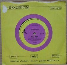 "DEEP PURPLE 1970 Black Night/ Speed king RARE! Mono Odeon  7"" Single 45 BRAZIL"