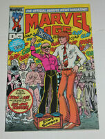 MARVEL AGE #8 MARVEL COMICS 1982 STAN LEE & JIM SHOOTER INTERVIEW NM 9.4