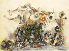Print - War, 1947 by Jackson Pollock