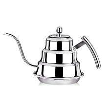 1.2 Liter Stainless Steel Teapot Tea Coffee Pots Long Narrow Spout Kettle