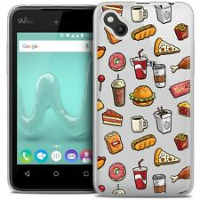 Coque Gel Pour Wiko Sunny Extra Fine Souple Foodie Fast Food