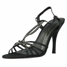 Zapatos de tacón de mujer de color principal azul de piel talla 39