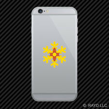New Mexico Snowflake Cell Phone Sticker Mobile NM snow flake snowboard skiing
