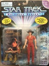 STAR TREK NEXT GENERATION HOLODECK SERIES - DEANNA TROI AS DURANGO ACTION FIGURE