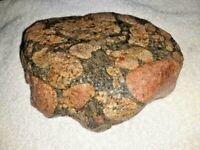 Beautiful Michigan Pudding Stone 3 Pounds +