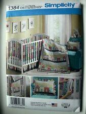 Simplicity Pattern 1384 Nursery & Crib Accessories infants baby's room