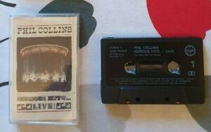 Phil Collins - Serious Hits Live - UK Cassette Album