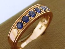 Rose Gold Wedding & Anniversary Bands with Gemstones