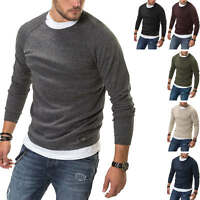 Jack & Jones Herren Strickpullover O-Neck Basic Sweater Pullover Herrenpullover