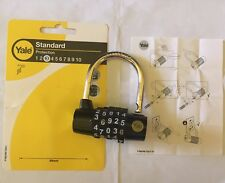 Yale Lock Y160 48 mm Steel 5 Dial Combination Padlock lucchetto combinazione
