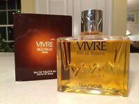 HUGE New in Box Vintage VIVRE Eau de Toilette by Molyneux 8.1 oz/240 mL Perfume