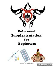 """Anabolic Steroids For Beginners """"how To"""" (Sarms, Tren, Hgh, PEDS) P.D.F"""