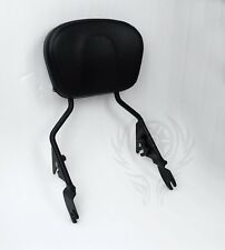 Sissy Bar Passenger Backrest W/ Pad For Harley Street Glide Road King 2009-2018