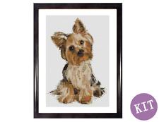 How Sweet Am I? - Yorkshire Terrier Dog - Cross Stitch Kit