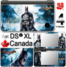 Batman SKIN DECAL COVER STICKER for Nintendo DSi XL