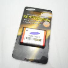 SLB-1137D Replacement Battery For SAMSUNG L74 i100 i85 i80 NV24 NV30 NV103 NV40