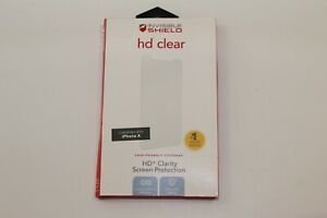 """Zagg Invisible Shield HD Clear Screen Protector iPhone 11 Pro / XS / X (5.8"""")"""