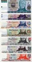 Argentina / Argentinien (1,5,10,50,100,500,1000) Pesos 1983 /84 Lot 7 Stück UNC.