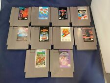 Nintendo NES Lot of 10 Games Dr. Chaos 720 Marble Madness Star Soldier & More!