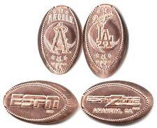 *Copper* Anaheim - Downtown Disney, Espn Zone (4) made w/unc pre82 copper