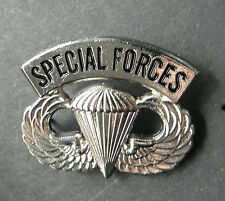 SPECIAL FORCES US ARMY AIRBORNE WINGS LAPEL PIN BADGE 1.25 INCHES