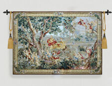 European-style tapestry, dyed jacquard (woven flower) tapestry---Palace Garden
